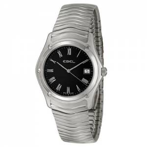 [エベル]EBEL 腕時計 Classic Black Dial Stainless Steel Watch 9255F41/5125 / 1215274 メンズ