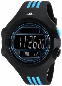 [アディダス]adidas Digital Blue Striped Watch with Polyurethane Band ADP6082 ADP6082