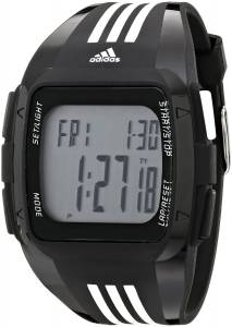 [アディダス]adidas Duramo XL Digital Black Watch with Polyurethane Band ADP6089 ADP6089