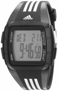 [アディダス]adidas Digital Black Striped Watch with Polyurethane Band ADP6093 ADP6093