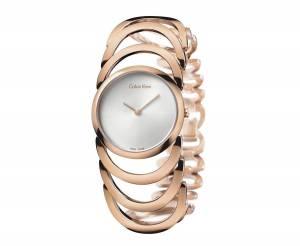 [カルバン クライン]Calvin Klein 腕時計 Rose Gold Body Watch, K4G23626 レディース