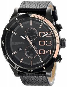 [ディーゼル]Diesel  Double Down Series Analog Display Analog Quartz Black Watch DZ4327