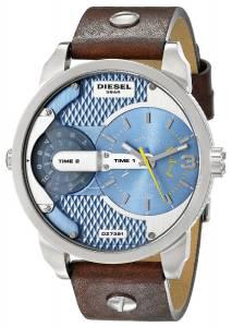 [ディーゼル]Diesel 腕時計 Mini Daddy Watch With Brown Leather Band DZ7321 メンズ