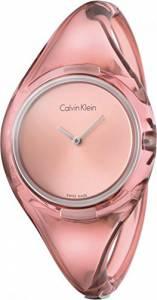 [カルバン クライン]Calvin Klein  Pink ck Pure Plastic Small Watch K4W2SXZ6 レディース