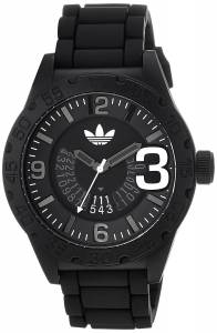 [アディダス]adidas 腕時計 Black Watch With Black Silicone Band ADH2963 ユニセックス