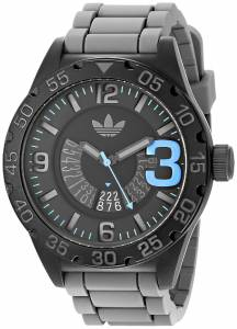[アディダス]adidas 腕時計 Newburgh Watch with Grey Silicone Band ADH2964 ユニセックス