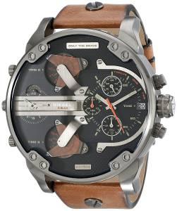 [ディーゼル]Diesel  Mr Daddy 2.0 Analog Display Analog Quartz Brown Watch DZ7332 メンズ