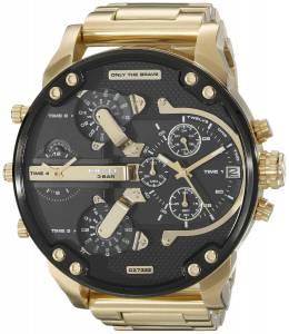 [ディーゼル]Diesel  Mr Daddy 2.0 Analog Display Analog Quartz Gold Watch DZ7333 メンズ