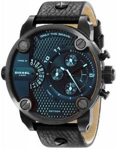 [ディーゼル]Diesel  Little Daddy Analog Display Analog Quartz Black Watch DZ7334 メンズ