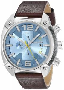 [ディーゼル]Diesel  Overflow Analog Display Analog Quartz Brown Watch DZ4340 メンズ
