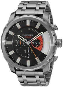 [ディーゼル]Diesel  Stronghold Analog Display Analog Quartz Grey Watch DZ4348 メンズ