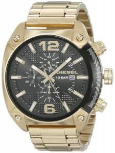 [ディーゼル]Diesel 腕時計 Overflow Analog Display Analog Quartz Gold Watch DZ4342 メンズ