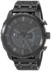 [ディーゼル]Diesel 腕時計 Stronghold Black Stainless Steel Watch DZ4349 メンズ
