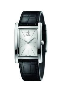 [カルバン クライン]Calvin Klein 腕時計 Refine Leather Watch K4P211C6 メンズ