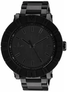 [アディダス]adidas 腕時計 Amsterdam Black Stainless Steel Bracelet Watch ADH3002 メンズ