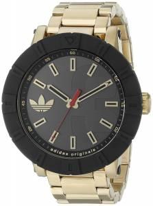 [アディダス]adidas 腕時計 Amsterdam GoldTone Stainless Steel Watch ADH3003 メンズ