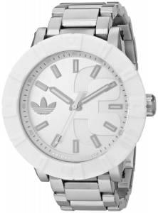 [アディダス]adidas 腕時計 Amsterdam SilverTone Stainless Steel Watch ADH3001 メンズ
