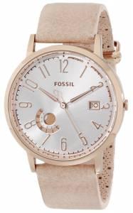 [フォッシル]Fossil  Vintage Muse GoldTone Stainless Steel Watch with Leather Band ES3751