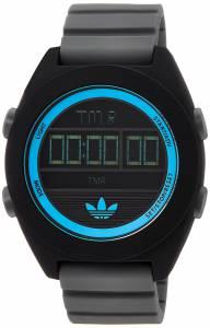[アディダス]adidas 腕時計 Calgary Digital Watch with Gray Silicone Band ADH2988 メンズ
