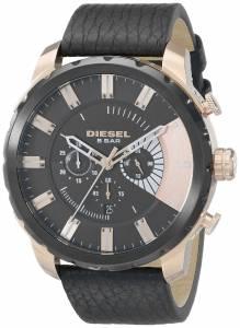 [ディーゼル]Diesel  Stronghold Analog Display Analog Quartz Black Watch DZ4347 メンズ