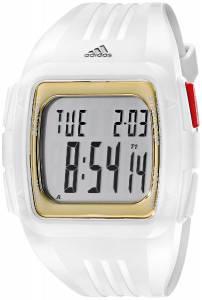 [アディダス]adidas Duramo White Stainless Steel Watch with Red and GoldTone Accents ADP3156