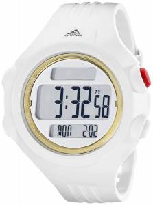 [アディダス]adidas  Stainless Steel Watch with White Polyurethane Band ADP3141 メンズ