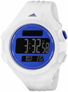 [アディダス]adidas  Questra Blue and White Digital Watch with Polyurethane Band ADP3140