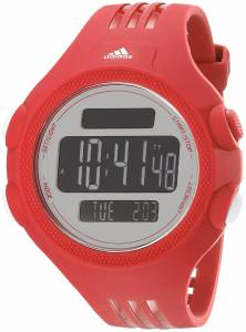 [アディダス]adidas  Stainless Steel Watch With Red Polyurethane Band ADP3134 メンズ