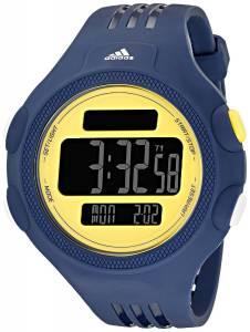 [アディダス]adidas  Stainless Steel Digital Watch With Blue Polyurethane Band ADP3135