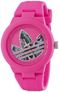 [アディダス]adidas  Aberdeen Pink Stainless Steel Watch with Polyurethane Band ADH3017