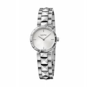 [カルバン クライン]Calvin Klein  Silver Stainless Steel Watch and Dial Face K5T33146
