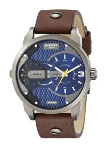 [ディーゼル]Diesel  Mini Daddy Analog Display Analog Quartz Brown Watch DZ7339 メンズ