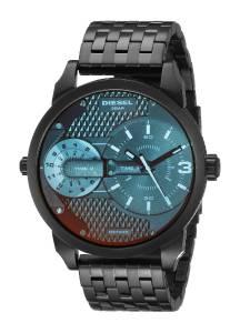 [ディーゼル]Diesel  Mini Daddy Analog Display Analog Quartz Black Watch DZ7340 メンズ