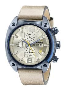[ディーゼル]Diesel  Overflow Analog Display Analog Quartz Brown Watch DZ4356 メンズ