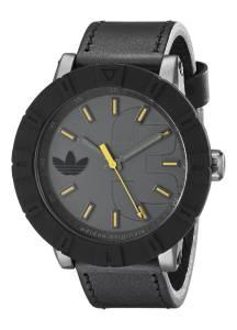 [アディダス]adidas  Amsterdam Analog Display Analog Quartz Black Watch ADH3028 メンズ