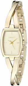 [ダナキャラン]DKNY 腕時計 CROSSWALK Gold Watch NY2313 レディース [並行輸入品]
