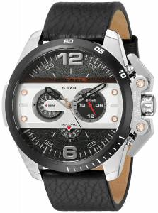 [ディーゼル]Diesel  Ironside Analog Display Analog Quartz Black Watch DZ4361 メンズ