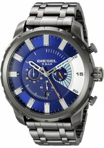 [ディーゼル]Diesel  Stronghold Analog Display Analog Quartz Grey Watch DZ4358 メンズ