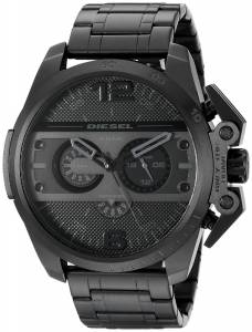 [ディーゼル]Diesel  Ironside Analog Display Analog Quartz Black Watch DZ4362 メンズ
