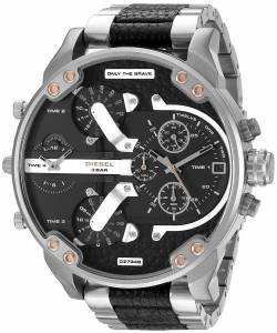 [ディーゼル]Diesel  Mr Daddy 2.0 Analog Display Analog Quartz Silver Watch DZ7349 メンズ