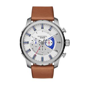 [ディーゼル]Diesel  Stronghold Analog Display Analog Quartz Brown Watch DZ4357 メンズ