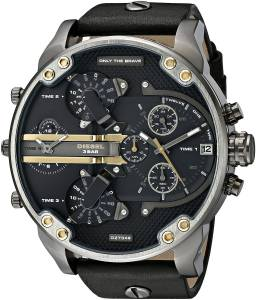 [ディーゼル]Diesel  Mr Daddy 2.0 Analog Display Analog Quartz Black Watch DZ7348 メンズ