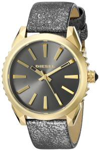 [ディーゼル]Diesel  Nuki Analog Display Analog Quartz Black Watch DZ5476 レディース