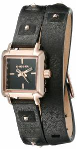 [ディーゼル]Diesel  Ursula Analog Display Analog Quartz Black Watch DZ5480 レディース