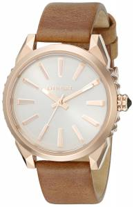 [ディーゼル]Diesel  Nuki Analog Display Analog Quartz Brown Watch DZ5477 レディース