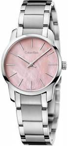[カルバン クライン]Calvin Klein 腕時計 City Pink Silver Tone Watch K2G2314E