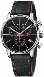 [カルバン クライン]Calvin Klein 腕時計 City Black Chronograph Watch K2G271C1 メンズ