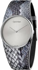 [カルバン クライン]Calvin Klein 腕時計 Spellbound Grey Leather Strap Watch K5V231Q4