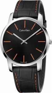 [カルバン クライン]Calvin Klein 腕時計 City Gents Orange and Black K2G211C1