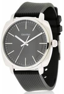 [カルバン クライン]Calvin Klein  Highline Black Silver Quartz Analog Watch K5M311D1